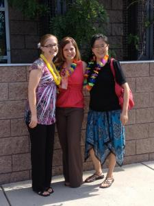 Flutist Alaina Diehl, Myself and Pianist Tzu-Feng Liu post the 2012 Summer Music Program