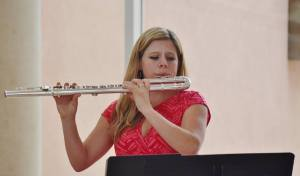 Alto Flute  Photo courtesy of Jeanne Dyke and Liz Madden