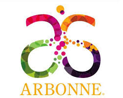 Arbonne Logo with bubbles